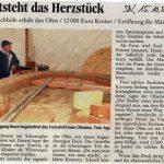 Mehrzweckbackhaus - Schaumburger Nachrichten vom 15.10.2010