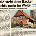 Mehrzweckbackhaus - Schaumburger Wochenblatt vom 11.12.2010