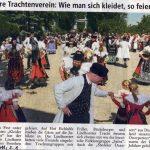 75 Jahre Trachtenverein Lindhorst - Schaumburger Nachrichten vom 06.06.2011